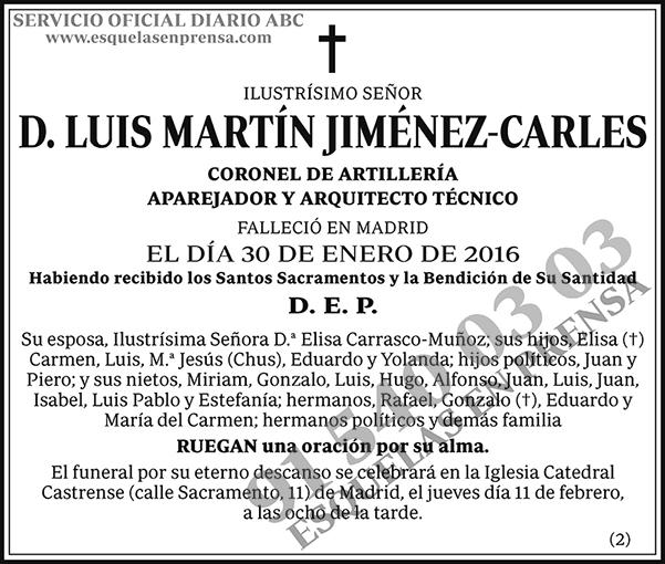 Luis Martín Jiménez-Carles